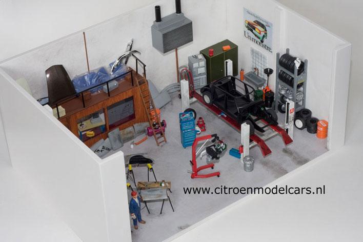 Diorama le grand garage atelier citro n 1 43 page 1 for Garage citroen pantin atelier